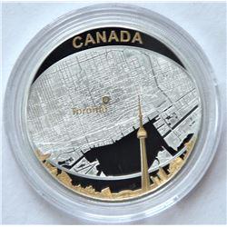 2011 $25 Toronto City Map
