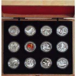 2013 O Canada 12-coin