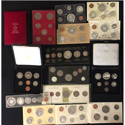 Lot of Royal Canadian Mint Sets