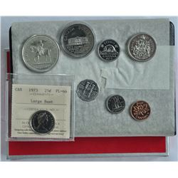 1973 Large Bust Proof Set