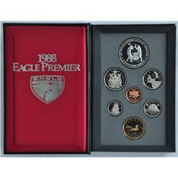 1988 RCM Proof Set presented by Eagle Premier