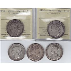 Newfoundland Lot of 5