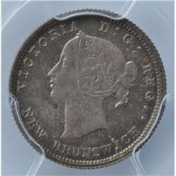 1862 New Brunswick Five Cents