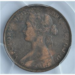 1862 Nova Scotia One Cent