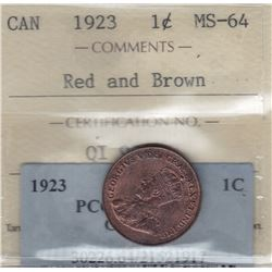 1923 One Cent