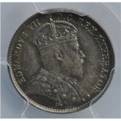1908 Five Cents - Small 8