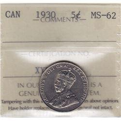 1930 Five Cents