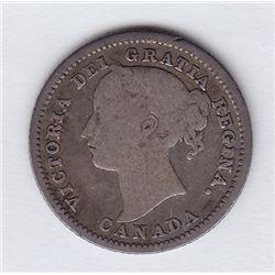 1884 Ten Cents