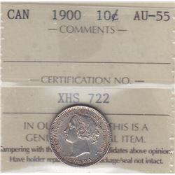 1900 Ten Cents