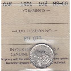 1901 Ten Cents