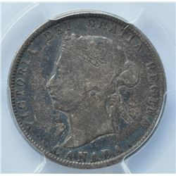 1880H Twenty Five Cents