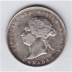 1881H Twenty Five Cents