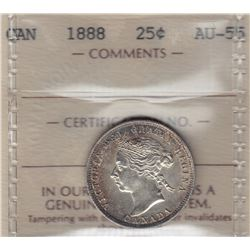1888 Twenty Five Cents