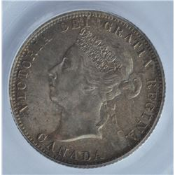 1900 Twenty Five Cents