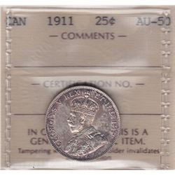 1911 Twenty Five Cents