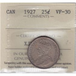 1927 Twenty Five Cents