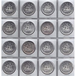 1949 Silver Dollars - Lot of 16