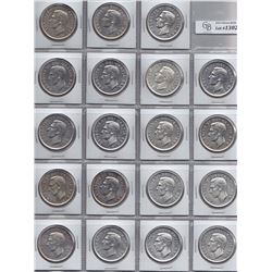 1951 Silver Dollars - Lot of 19