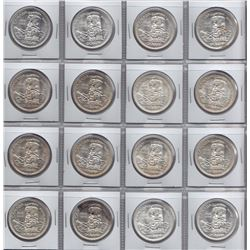 1958 Silver Dollars - Lot of 16