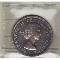 1961 Silver Dollar