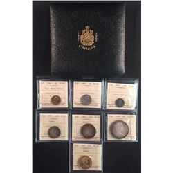 1967 Canada Specimen Set with $20 Gold