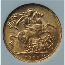 1919 Canadian Gold Sovereign