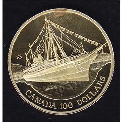 1991 Canada $100 Gold Coin
