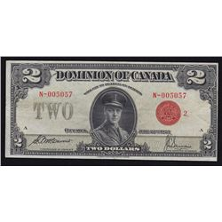 1923 Dominion of Canada $2