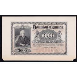 1901 Bank Legal $5,000