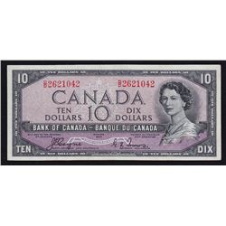 1954 Bank of Canada $10 - Devil's Face