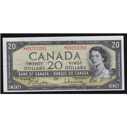 1954 Bank of Canada $20 Replacement