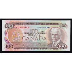 1975 Bank of Canada $100 Replacement