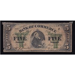 Bank of Commerce $5, 1871, Contemporary Counterfeit