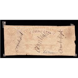 Union Bank of PEI, $5, 1872, Contemporary Counterfeit
