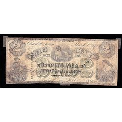 Union Bank of PEI, $2, 1875, Contemporary Counterfeit