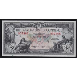 Canadian Bank of Commerce $10, 1935