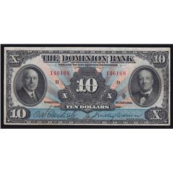 Dominion Bank $10, 1931