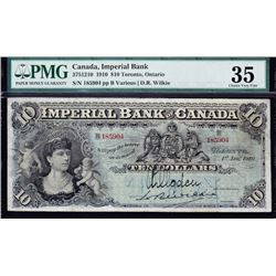 Imperial Bank $10, 1910