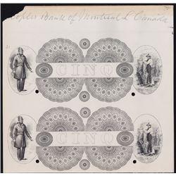 La Banque du Peuple $5, 1838