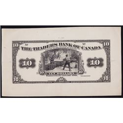 The Traders Bank of Canada $10