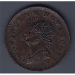 TOKENS OF NOVA SCOTIA  - Co. 254. Br 867.