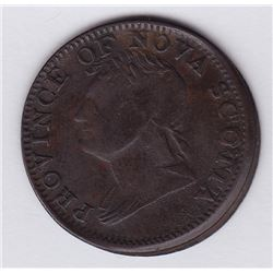 TOKENS OF NOVA SCOTIA  - Co. 278. Br 871.  Off-centre.