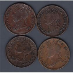 TOKENS OF NOVA SCOTIA  - Co. 278. Br 871.  Clash study group.