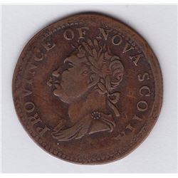 TOKENS OF NOVA SCOTIA  - Co. 282. Br 871. Broadstruck.