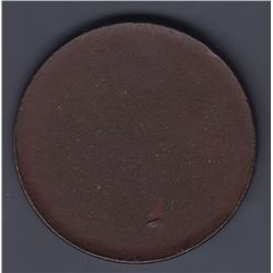 TOKENS OF NOVA SCOTIA  - Blank Mayflower penny planchet