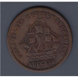 NOVA SCOTIA MERCHANT TOKENS - Co. 330.  Br 895.  Nova Scotia and New Brunswick.  Success.