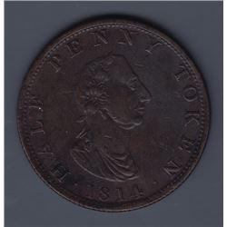 NOVA SCOTIA MERCHANT TOKENS - Co. 331.  Br 881. Carritt & Alport.