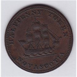 NOVA SCOTIA MERCHANT TOKENS - Co. 339.  Br 884. Star & Shannon.
