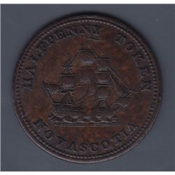 NOVA SCOTIA MERCHANT TOKENS - Co. 340.  Br 885.