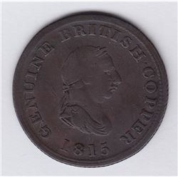 NOVA SCOTIA MERCHANT TOKENS - Co. 346. Br 887. Genuine British Copper.
